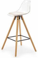 Transparante Home Style Barkruk Harlem 95 cm hoog