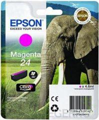 Paarse EPSON 24 inktcartridge magenta standard capacity 4.6ml 360 pagina s 1-pack blister zonder alarm
