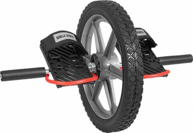 Afbeelding van Zwarte Gorilla Sports Power Wheel -Kunststof - voor corespieren