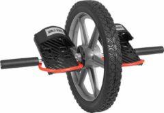 Zwarte Gorilla Sports Power Wheel -Kunststof - voor corespieren