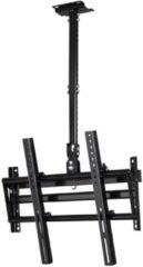 Zwarte Filex 83721 TKLA-7837 TV Ceiling-mount [46inch, 50kg, VESA, 360°, 450 - 600m, black]