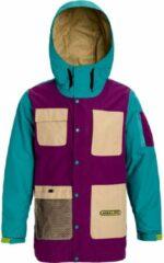 Groene Analog Solitary snowboardjas safari / green-blue slate / charisma
