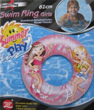 Afbeelding van Roze Summerplay Summer Play - Zwemband meisjes 61 cm
