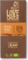 Lovechock Reep Raw Chocolate Almond & Baobab Bio