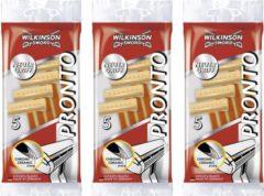 Wilkinson Sword Wilkinson Pronto wegwerpscheermesjes -Voordeelset 3 pakjes a 5 stuks!!
