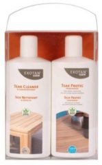 Transparante Exotan Care onderhoud promopakket teak plus