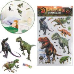Massamarkt Toi Toys Muur deco stickervel Dino XXL
