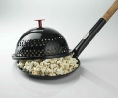 Zwarte Bon Fire Popcorndeksel 28 cm.