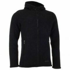 Zwarte Engel - Jacke mit Kapuze - Wollen jack maat 46 / 48 zwart