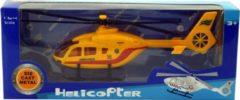 Massamarkt Traumahelicopter 1:64 geel