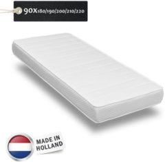 Witte O.M.M Koudschuim HR55 - Matras - 90x180 x 20 cm - Medium