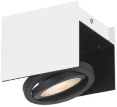 EGLO Vidago - LED plafonniere - 1-lichts - wit/zwart