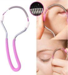 Roze HC ProductOnline Epileerveer – Epileerapparaat dames – Epilady – Epilator – Gezichtsontharing – Wenkbrauw trimmer