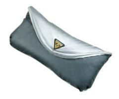 Grijze Topeak regenhoes voor bagagedragertas - Fietshoezen