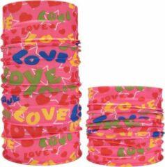 Blauwe MFFL Airsoft – paintball / buitensport gezichtsbedekking Roze en andere kleuren met tekst LOVE (31293)