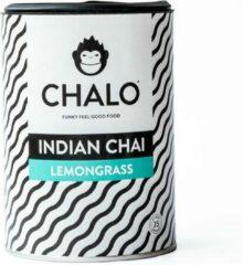 CHALO Lemongrass Chai Latte - Indische, Vegan, Citroengras Chai - Zwarte Assam thee - 25 porties/ 300GR