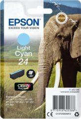 Blauwe Epson 24 - Inktcartridge / Licht Cyaan