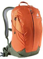 Deuter - AirComfort Lite 17 - Wandelrugzak maat 17 l, rood/oranje