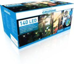 Grundig Kerstverlichting - 140 LED Lampjes voor Binnen en Buiten - 1890 cm - IP44 - Warm Wit
