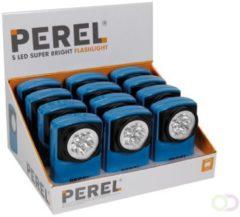 Roestvrijstalen Merkloos / Sans marque Zaklamp - Retro superhelder LEDs