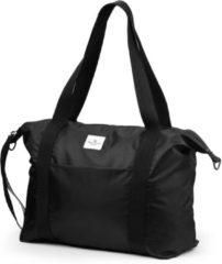 Zwarte Elodie Details - luiertas soft shell - Brilliant Black