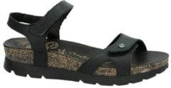 Panama Jack Sulia Basics Sulia Basics nubuck sandalen zwart