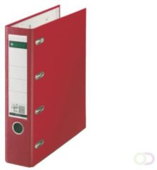 Ordner Bank Leitz 1012 80mm PP 2 mechanieken rood