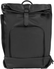 Dusq Leather Family Bag Luiertas Rugzak Night Black