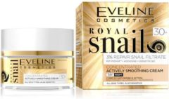 Eveline Royal Snail Concentrated Actively Smoothing Cream - Day and Night 30+ - 50 ml