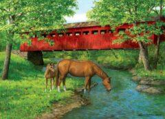 Eurograph Puzzel 1000 stukjes-Sweet water bridge