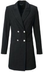 Zwarte Longline-blazer