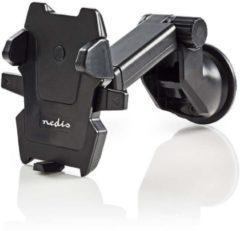 Zwarte Nedis SCMT100BK Smartphone-houder Voor De Auto Universeel