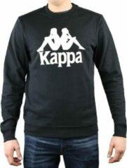 Kappa Sertum RN Sweatshirt 703797-19-4006, Mannen, Zwart, Sporttrui casual maat: XL