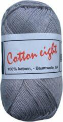Beijer BV Cotton eight 8/4 onbewerkt dun katoen garen - licht grijs (362) - naald 2,5 a 3
