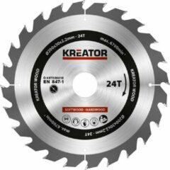 Kreator KRT020418 Zaagblad hout 200 mm - 24T