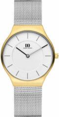 Gouden Danish Design watches edelstalen dameshorloge Långeland Two-Tone Medium IV65Q1259