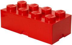 Rode Lego Opbergbox Brick 8 - 50 cm x 25 cm x 18 cm - Rood