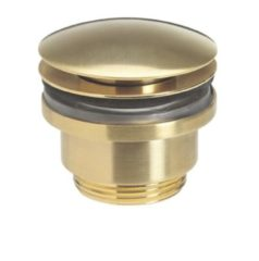 Crosswater MPRO wastafel klikwaste geborsteld messing (goud) PRO0260F+