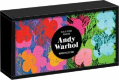 Galison Andy warhol wood puzzle set