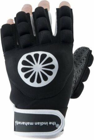 Afbeelding van The Indian Maharadja Glove shell/foam half [left-b]-L Sporthandschoenen Unisex - zwart