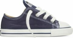 Marineblauwe Converse Chuck Taylor All Star Sneakers Laag Baby - Navy - Maat 25