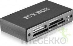 Grijze ICY BOX IB-869a Micro-USB Grijs geheugenkaartlezer