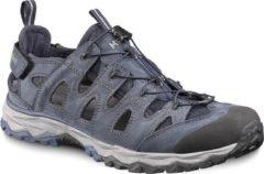 Marineblauwe Meindl Lipari sandaal comfort fit