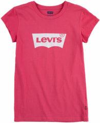 LEVI'S Meisjes zomer t-shirt - Batwing - Tea tree pink