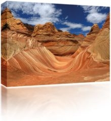Sound Art canvas + bluetooth Speaker Desert Rocks (23 x 28cm)