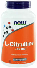 Now Foods Now L-citrulline 750 Mg Trio (3x 180vc)