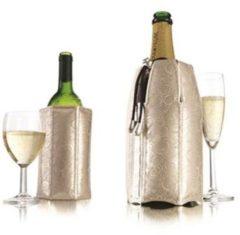 Zilveren Vacu vin Rapid Ice Active Wijn- en Champagne Cooler - Platinum