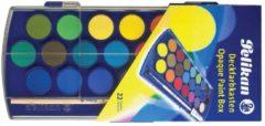 Pelikan verfdoos plakkaatverf Paintbox 22 napjes
