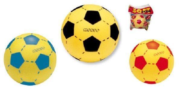 Afbeelding van Mondo Softbal (schuimrubber) 20cm voetbalprint
