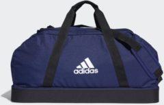 Marineblauwe Adidas Tiro Primegreen Bottom Compartment Duffeltas Large